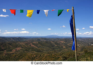 Blessing flags