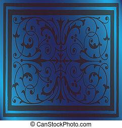 bleu, élégant, résumé, fond