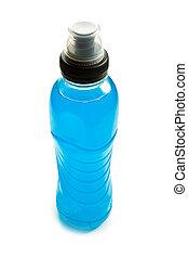 bleu, énergie, boisson