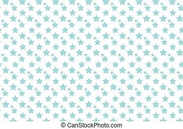 bleu, étoiles, art, pop, fond