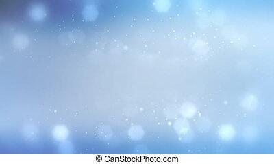 bleu, 1080p, particule, fond, boucle