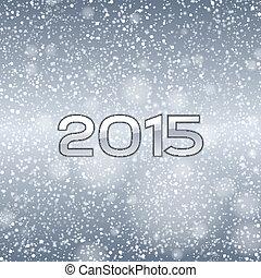bleu, 2015, neige