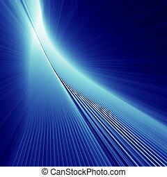 bleu, abstarct, éclat, fond