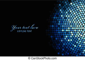 bleu allume, disco