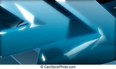 bleu, angle