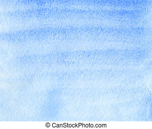 bleu, aquarelle, résumé, fond