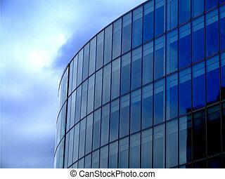 bleu, architecture