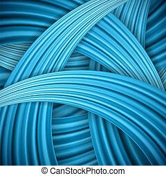 bleu, arrière-plan., résumé, vecteur