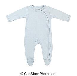 bleu, bébé, dormeur