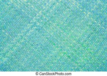 bleu, bambou, texture