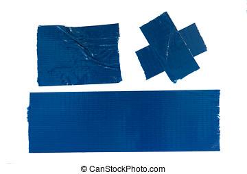 bleu, bande conduit
