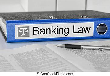 bleu, banque, dossier, droit & loi, étiquette