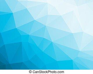 bleu, blanc, hiver, fond