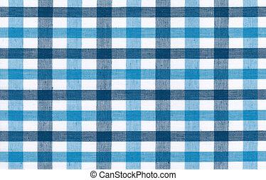 bleu, blanc, nappe