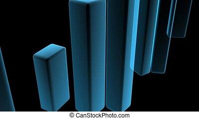 bleu, blocs