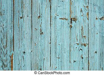 bleu, bois, vieux, texture