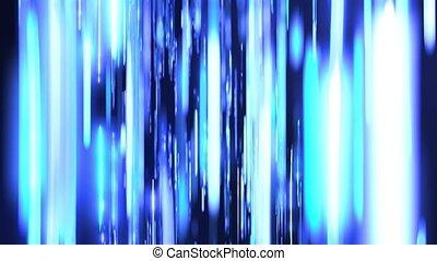 bleu, boucle, fond, raies, vertical