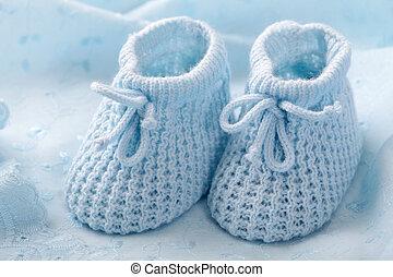 bleu, butins bébé