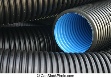 bleu, canaux transmission, noir