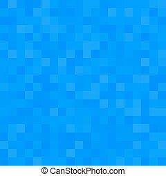 bleu, carré, seamless, fond