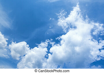 bleu, ciel