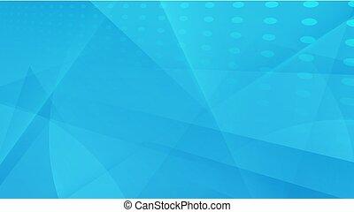 bleu, concept, résumé, moderne, fond, géométrique, futuriste
