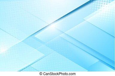bleu, concept, résumé, moderne, forme, fond, géométrique, doux, futuriste