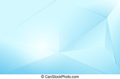 bleu, concept, résumé, moderne, polygonal, fond, futuriste