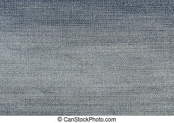 bleu, concept, tissu, lumière, jeans treillis, porté, texture, fond, ou