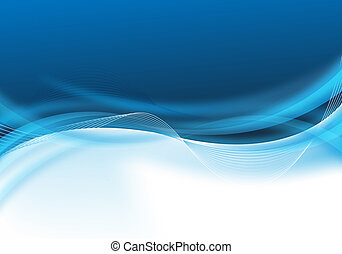 bleu, conception abstraite, business