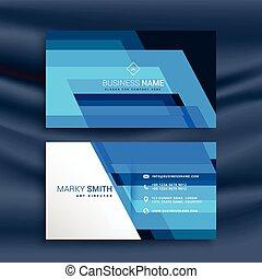 bleu, conception abstraite, carte affaires