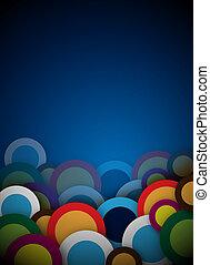 bleu, conception abstraite
