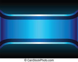 bleu, copyspace., néon, fond