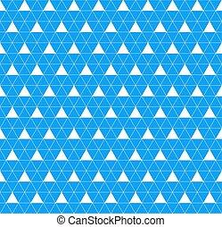 bleu, couleur, modèle, seamless, vecteur, géométrique