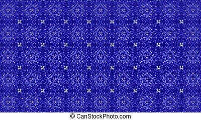 bleu, couleur, résumé, mosaïque