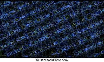 bleu, diagonal, griffonnage, haut, raies, sombre, courant, vidéo, seamless, fond, boucle