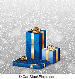 bleu, dons