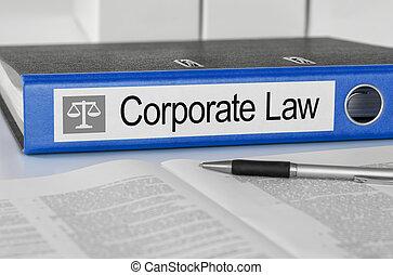 bleu, dossier, droit & loi, constitué, étiquette