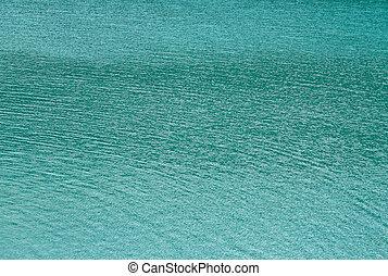 bleu, eau, résumé, fond, mer