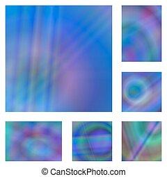 bleu, ensemble, coloré, gradient, résumé, fond