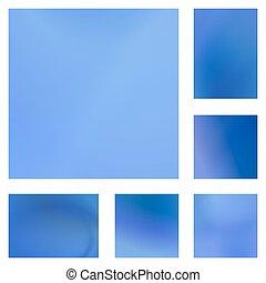 bleu, ensemble, lumière, conception abstraite, fond