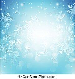 bleu, eps10, résumé, neige, illustration, 010, bokeh, vecteur, fond, automne