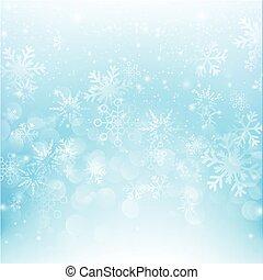 bleu, eps10, résumé, neige, illustration, 011, bokeh, vecteur, fond, automne