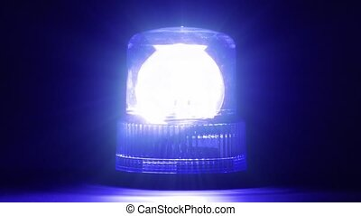 bleu, flasher, -, hd, urgence