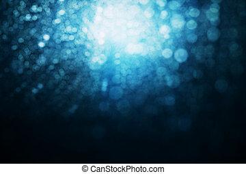 bleu, flou, toile de fond