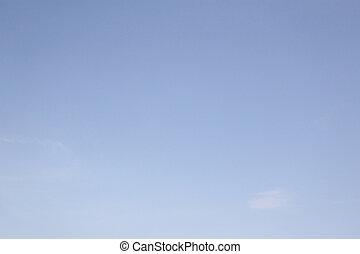 bleu, fond, ciel