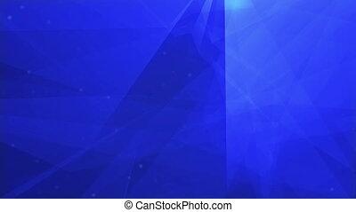 bleu, formes, résumé, profond, fond