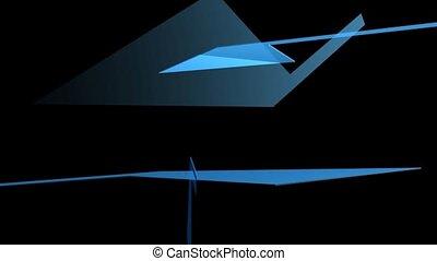 bleu, formes