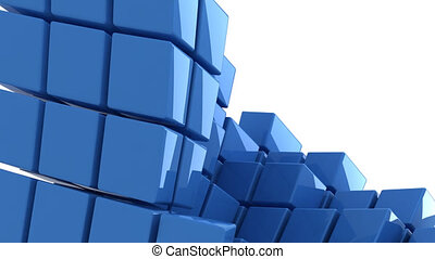 bleu, géométrie, résumé