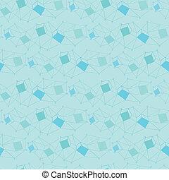 bleu, géométrie, seamless